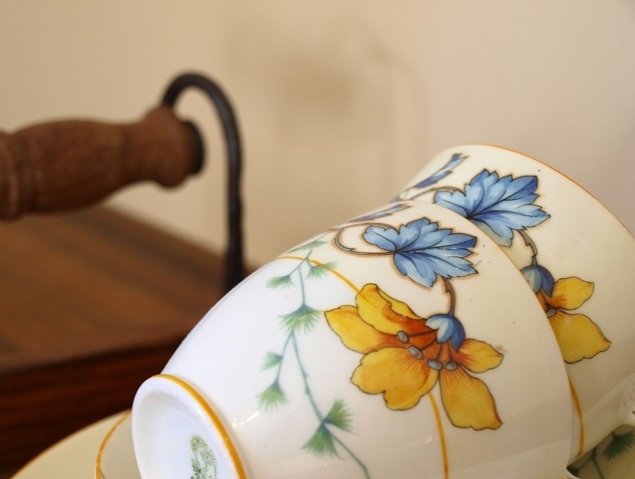 Grange Boutique B & B teacups